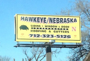 Hawkeye Billboard