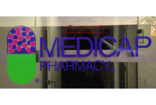 Window Lettering for Medicap