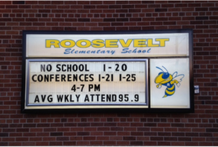 School Marquee
