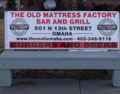 Old Mattress Bench