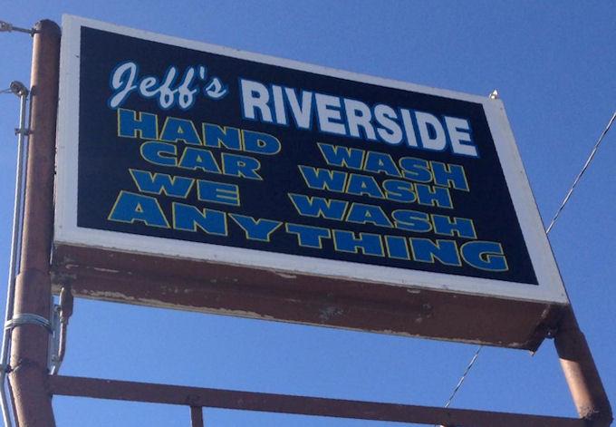 Car Wash Signage