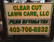 Sign on Trailer