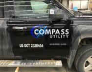 Business Vehicle Lettering