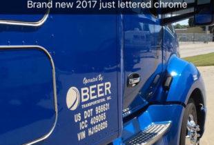 Chrome Lettering