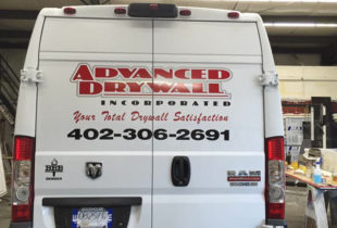 Business Van Lettering
