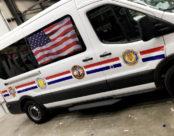 Honor Guard Vehicle Wrap