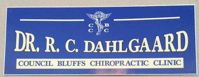 Chiropractic Center - Alumicor Signage