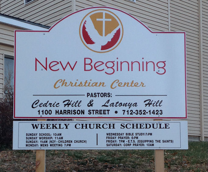 Church Cut Out Sign