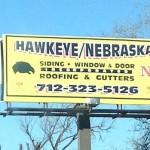 Hawkeye Billboard