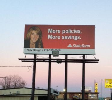 State Farm Billboard