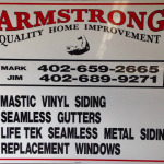 New Aluminum Sign