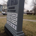 Monument Business Signage
