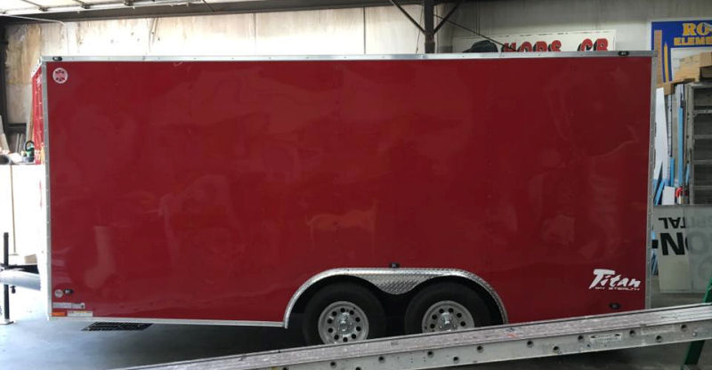 Before! Trailer Lettering